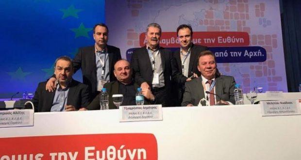O Θανάσης Παπαθανάσης πρώην Δήμαρχος Ναυπάκτου και μέλος του Εποπτικού Συμβουλίου της ΚΕΔΕ στο Συνέδριο της ΚΕΔΕ στη Θεσσαλονίκη (Φωτογραφίες)