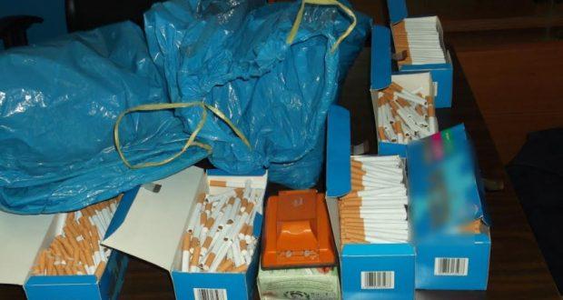 Συνελήφθησαν δύο στη Μπαμπίνη για κατοχή λαθραίου καπνού (Φωτογραφία)