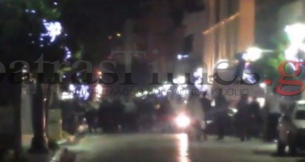 Πάτρα: Αντιεξουσιαστές ήρθαν αντιμέτωποι με μέλη της Χρυσής Αυγής (Φωτογραφίες – Βίντεο)