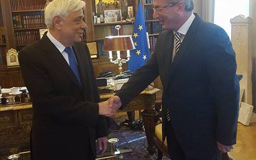Ο Δήμαρχος Θέρμου για τη συνάντησή του με τον Προκόπη Παυλόπουλο