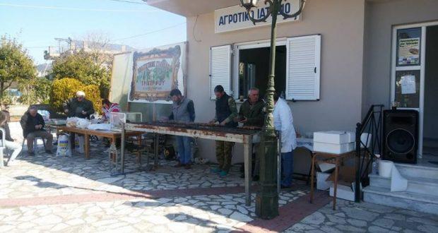 To «τσικνίζουν» στο Τρίκορφο Ναυπακτίας (Φωτογραφίες)