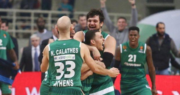 Euroleague Basketball: Μάικ Τζέιμς, ο σωτήρας του Παναθηναϊκού!
