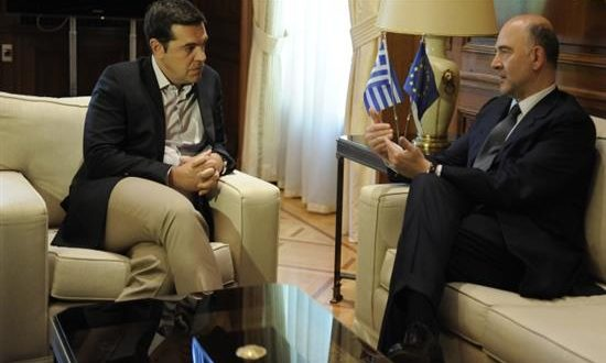 Εκτάκτως στην Αθήνα ο Μοσκοβισί
