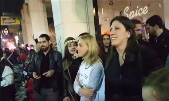 Η Ζωή Κωνσταντοπούλου στο Πατρινό Καρναβάλι