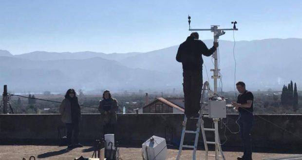 Παναιτώλιο: Mετεωρολογικός σταθμός και μετρητής της στάθμης της Τριχωνίδας από το ΙΘΑΒΙΠΕΥ