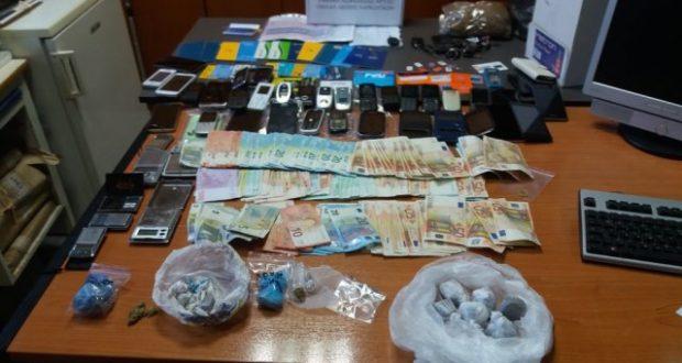 Εξάρθρωση του κυκλώματος ναρκωτικών που είχε και «άρωμα» Αιτωλοακαρνανίας (Φωτογραφίες)