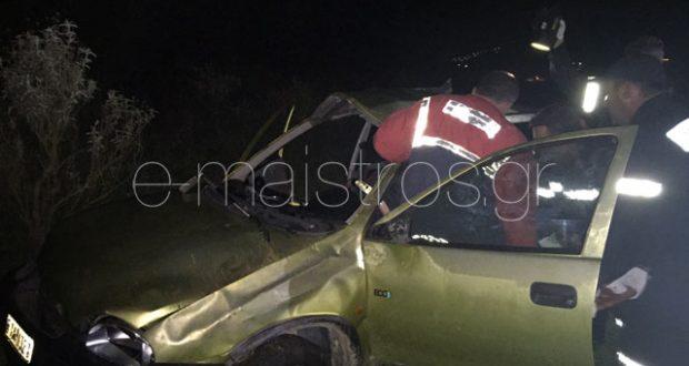 Τροχαίο ατύχημα στο 1ο χλμ Αμφιλοχίας – Αντιρρίου