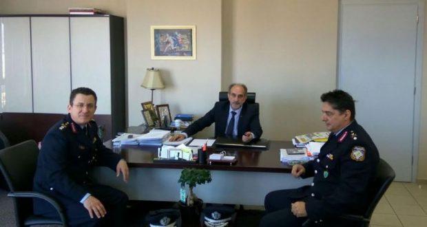 Συνάντηση του Απ. Κατσιφάρα με τον Α. Μητρόπουλο και τον Ν. Κοτρωνιά
