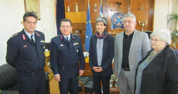 Επίσκεψη της Πρέσβη της Μεγάλης Βρετανίας στην Γενική Περιφερειακή Αστυνομική Διεύθυνση Δυτικής Ελλάδας