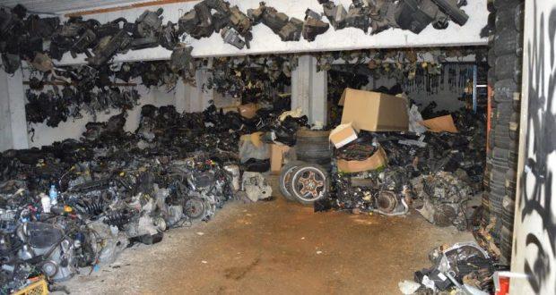 Εντοπίστηκε εργαστήριο παραποίησης και πλαστογραφίας οχημάτων στην Πάτρα