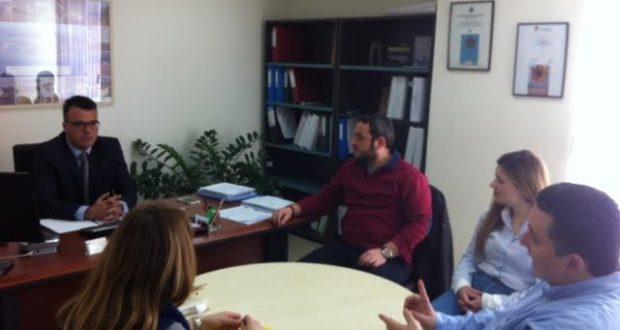 Συνάντηση Μπαλαμπάνη με εκπροσώπους της ΕΤΒΑ ΒΙΠΕ Α.Ε.