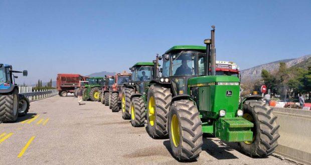 Αποχώρησαν τα γεωργικά μηχανήματα από τον Κόμβο Κεφαλόβρυσου