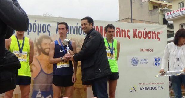 Νικητής του Ημιμαραθωνίου ο Κώστας Σταμούλης της ΓΕΑ – Οι δηλώσεις του Δημάρχου, Γ. Παπαναστασίου