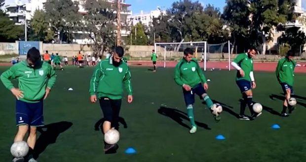 Ο προπονητής του Χαλανδρίου, έγινε… Σάκης Τανιμανίδης! (Βίντεο)