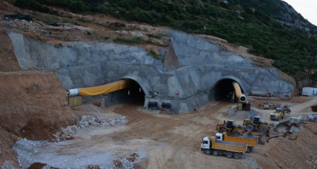 Ιόνια Οδός: Στην τελική ευθεία τα τούνελ της Κλόκοβας (Βίντεο)