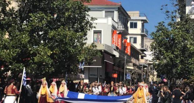 Αγρίνιο: Με λαμπρότητα η Παρέλαση (Μεγάλο φωτορεπορτάζ του AgrinioTimes)
