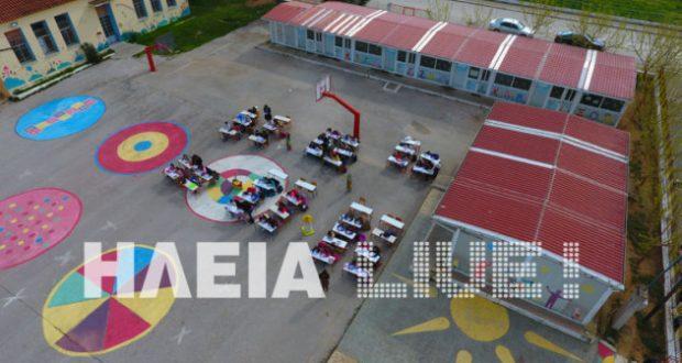 Ηλεία: Παιδεία για κλάματα – Εικόνες ντροπής σε δημοτικό σχολείο της Μανωλάδας (Φωτογραφίες – Βίντεο)