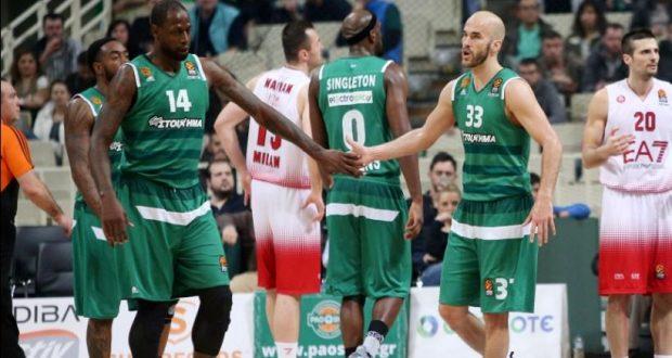 Euroleague Basketball: «Καθάρισε» την Αρμάνι και πάει για Μπασκόνια!