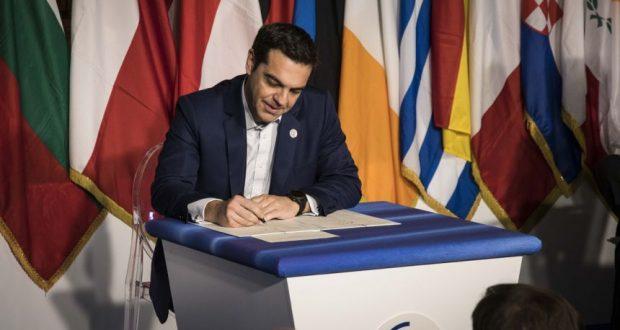 Αλ. Τσίπρας: «Στο επίκεντρο το κοινωνικό κεκτημένο της Ευρώπης» – «Σήμερα γιορτάζουμε την Ελληνική Επανάσταση»