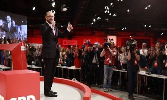 Μάρτιν Σουλτς, εξελέγη πρόεδρος των Γερμανών Σοσιαλδημοκρατών με ποσοστό 100%!