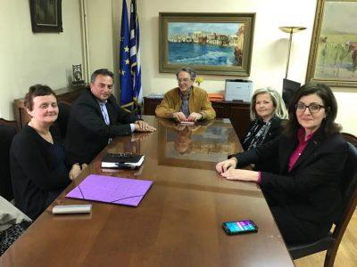 Συνάντηση Μελιάδη-Αντώνογλου, πιλοτικός Δήμος το Αγρίνιο