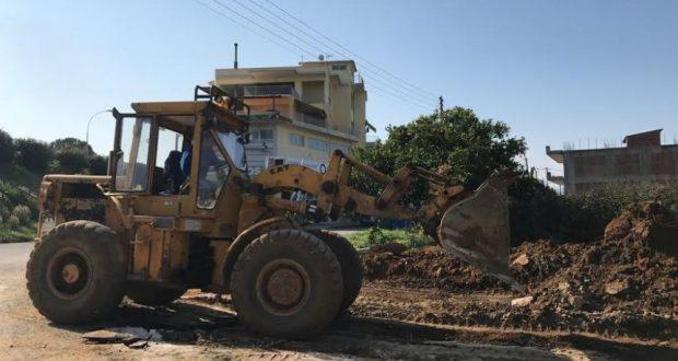 Αγρίνιο: Μεγάλη παρέμβαση στην περιοχή της αερογέφυρας (Φωτογραφίες)