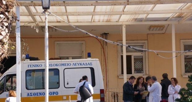 Από το Νοσοκομείο Λευκάδας στο Νοσοκομείο Ιωαννίνων, ο παίχτης της Μεδεών Κατούνας