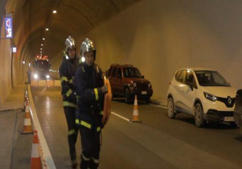 Δίνονται στην κυκλοφορία οι τέσσερις σήραγγες της νέας εθνικής οδού Κορίνθου-Πατρών