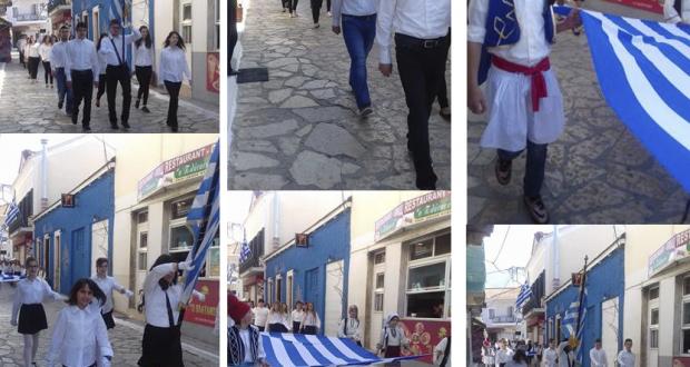 Γιορτάστηκε η επέτειος της 25ης Μαρτίου στην Πάλαιρο (Φωτογραφίες)