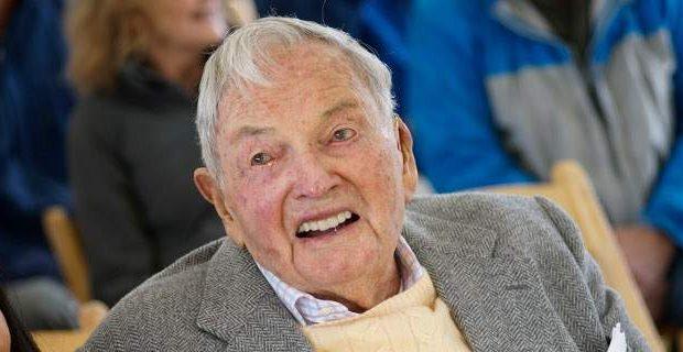 Πέθανε ο δισεκατομμυριούχος Ντέιβιντ Ροκφέλερ
