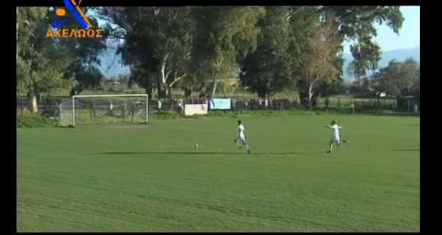 Ποδοσφαιριστής του Απόλλων Δοκιμίου… γίνεται viral για το γκολ που έχασε! (Βίντεο)
