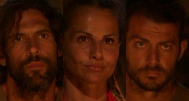 Survivor 2017: Σπαλιάρας, Πασχάλη και Αγγελόπουλος οι τρεις υποψήφιοι προς αποχώρηση