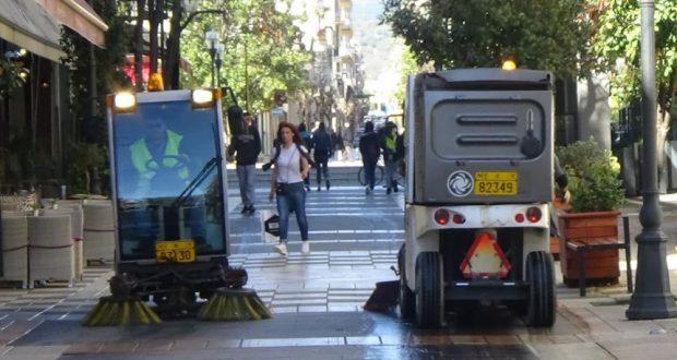 Αγρίνιο: Ενεργοποίηση σάρωθρου, στη μάχη για καθαρή πόλη
