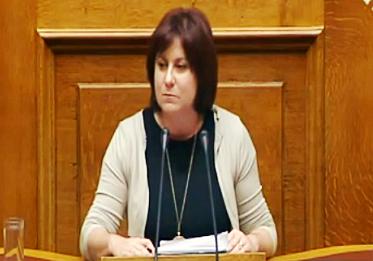 Ομιλία Μ. Τριανταφύλλου στην ολομέλεια της Βουλής για το σχέδιο νόμου