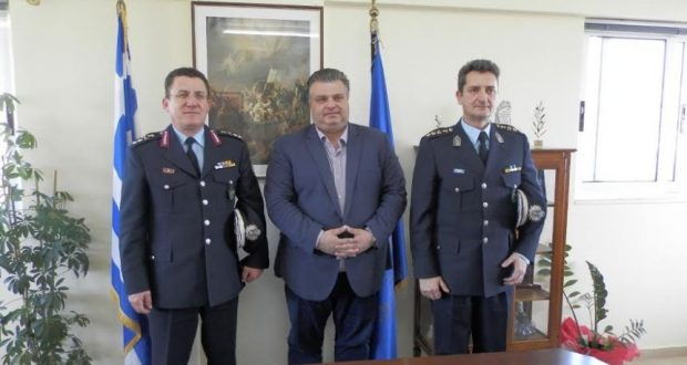 Συνάντηση του Δημάρχου Ιερής Πόλης Μεσολογγίου με τον Αστυνομικό Δ/ντή Δυτικής Ελλάδας