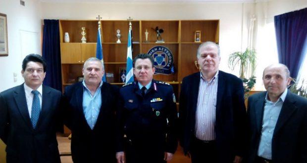 Εθιμοτυπική επίσκεψη των Αποστράτων Αστυνομικών στον Γενικό Περιφερειακό Αστυνομικό Διευθυντή Δυτικής Ελλάδας