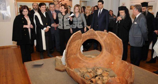 Εντυπωσιάζειη έκθεση αρχαιολογικών ευρημάτων από την κατασκευή της Ιόνιας Οδού