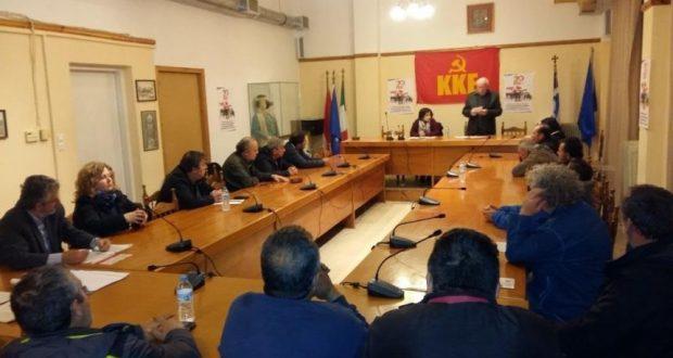 Πολιτική εκδήλωση πραγματοποίησε η ΚΟΒ Ακτίου – Βόνιτσας του ΚΚΕ