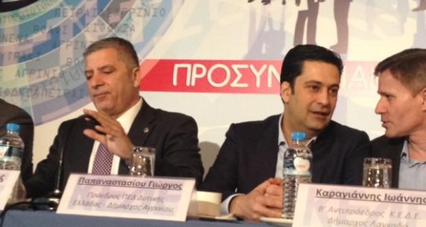 O Πατούλης στη γενική συνέλευση της Περιφερειακής Ένωσης Δήμων Δυτικής Ελλάδας