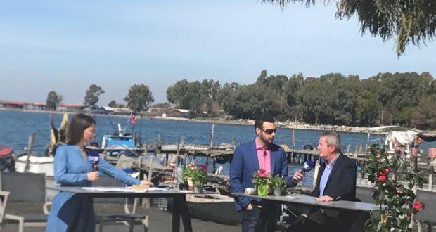 Στην εκπομπή της ΕΡΤ3 που μεταδόθηκε από το Μεσολόγγι, ο πρόεδρος της Ένωσης Ξενοδόχων  Χ. Κωστακόπουλος