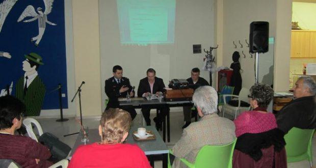 Οι αστυνομικοί πραγματοποίησαν διαλέξεις στο Α΄ και στο Γ΄ ΚΑΠΗ της Πάτρας