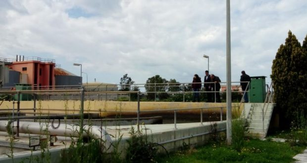 Επίσκεψη στον Βιολογικό Καθαρισμό Πάτρας – Σε λειτουργία το Γεωχωρικό Σχέδιο Περιβαλλοντικής Εποπτείας