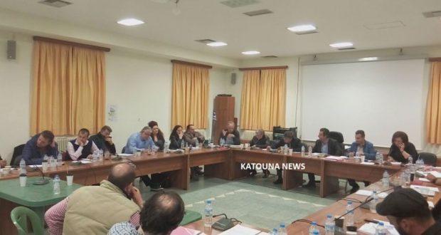 Ολονύκτια Συνεδρίαση του Δημοτικού Συμβουλίου Δήμου Ακτίου-Βόνιτσας στην Κατούνα
