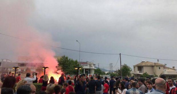 Αγρίνιο: Η άφιξη του Πρωταθλητή Ελλάδας, Ολυμπιακού για τον αυριανό αγώνα με τον Παναιτωλικό (Φωτογραφίες – Βίντεο)