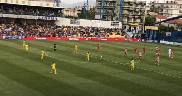 Τέλος πρώτου ημιχρόνου: Παναιτωλικός (0-1) Ολυμπιακός (Φωτογραφίες του AgrinioTimes.gr)