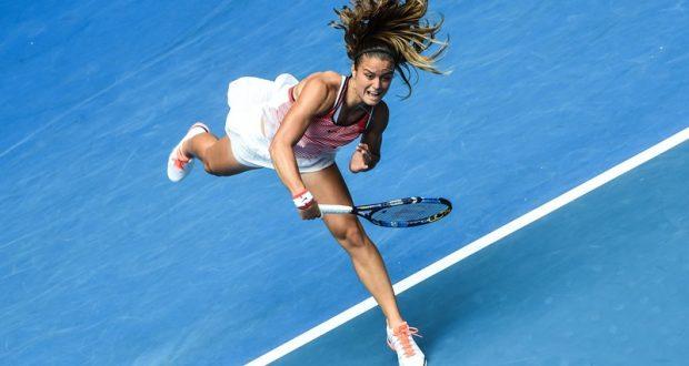 Η Μιχαέλα Μπουζαρνέσκου νίκησε την Ελληνίδα πρωταθλήτρια στον τελικό του Σαν Χοσέ