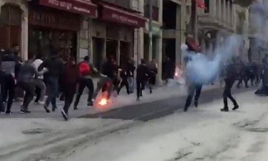 Τραυματίες οπαδοί του Ολυμπιακού στην Πόλη