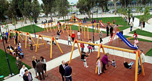 Η πρώτη παιδική χαρά για ΑμεΑ στη Λάρισα