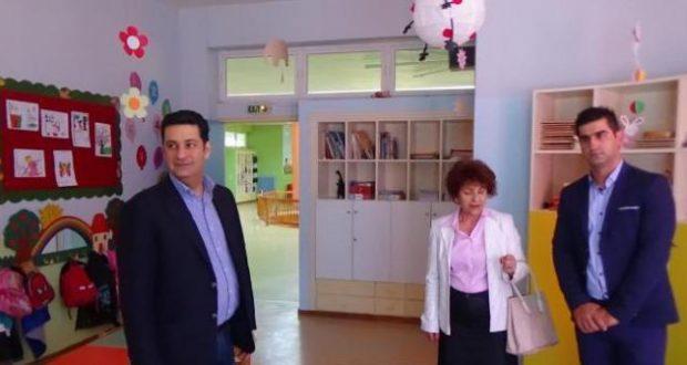 O Δήμαρχος Αγρινίου στον 5ο Παιδικό Σταθμό Αγρινίου