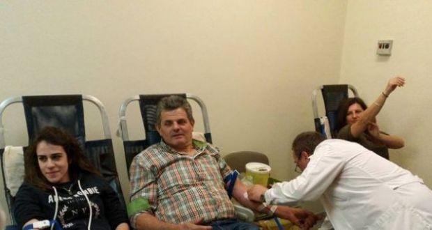 Αγρίνιο: Εθελοντική Αιμοδοσία με αφορμή την Παγκόσμια Ημέρα Εθελοντή Αιμοδότη